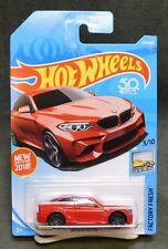 2018 Hot Wheels coche 254/365 2016 BMW M2-l funda