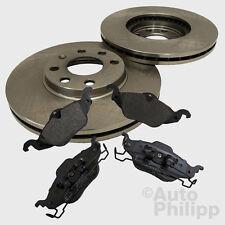 Bremsscheiben Ø256 + Bremsbeläge vorne OPEL ASTRA G 1.2-2.0