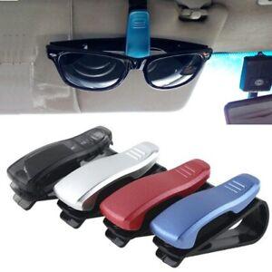 Sunglasses Holder In Car Sun Glasses Case Clip Grip Gift For Drivers Eyeglasses