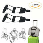 2pcs Travel Luggage Suitcase Adjustable Belt Add A Bag Strap Carry On Bungee New