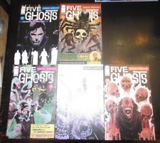 Five Ghosts #1,2,3,4,5 Haunting of Fabian Gray Barbiere Image VF-