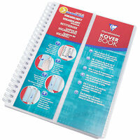 KoverBook A5 Vocabulary Note Book 100 Page Language Revision Pad German French