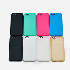 For Apple iPhone5 5S 6S 7 8 Plus Waterproof Shockproof Rubber TPU Case Cover QT4
