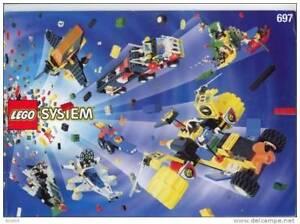 livre d´idées lego system 697 de 1997