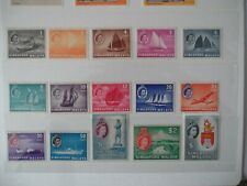 SINGAPORE 1955-59 SG 38/52 in U/M condition  Cat  by SG £130