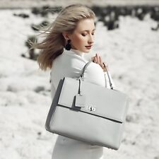 SALE was $349! Clarence Frank Mariarosa Tote- Grey - Womans Bag- Genuine Leather