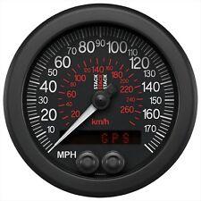 Stack 85mm GPS Car Speedo Speedometer Gauge   0-180 MPH / 0-290 KM/H
