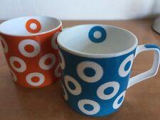 Mug U.P.C Coffee Cup Fine Bone China Made In India VTG Set 2 Cups Expresso Tea