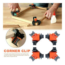 4pcs 90 Degree Right Angle Corner Clip Clamps Kit Holder Woodworking Hand Tool