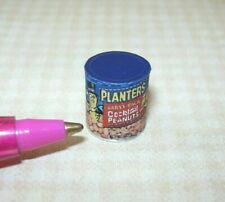 Miniature Cocktail Peanuts Can (Brand) for Dollhouse Miniatures 1:12 Scale