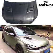 Fits Volkswagen Golf7 R VII MK7 GTI 14-17 Engine Hood Bonnet Lid Cover Carbon