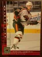 2001-02 MARIAN GABORIK BAP /200 RUBY Parallel NHL Minnesota Wild COMB SHIP