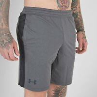 New Under Armour Lightweight Athletic MK-1 Shorts Gray Black Heat Gear Men 3XL