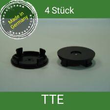 TTE schwarz Nabenkappen Felgendeckel 55 mm Borbet Aluett ,4 St.