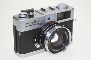 Minolta Hi matic 7IIs mit 1,7/40 Rokkor guter Zustand Belichtungsmesser defekt!!