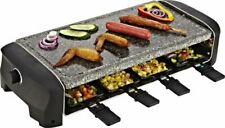 8 Person Raclette Grill Hot Stone Dinner Party Set Princess 162830