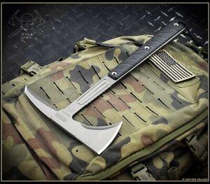 RMJ Tactical Tomahawk Kestrel Feather Tungsten Black G10 Authorized Dealer