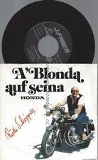"""7""""  Rudi Schipper – A' Blonda Auf Seina Honda"""