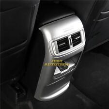 Matte Chrome interior Rear Armrest  Moulding cover trim for 2017-18 Honda CRV