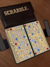 Vintage Pocket Scrabble - Travel Wallet sized magnetic board and complete set