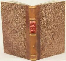 BUFFON LES EPOQUES DE LA NATURE GEOLOGIA GEOLOGY CRONOLOGIA ORIGINE TERRA 1780
