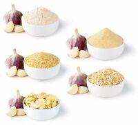 Hayllo Premium Dried Garlic Granulated Garlic Powder,Chop,Flake,Minced 4oz-50Lb
