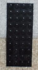 LEGO FLAT BASE  *** BLACK IN COLOUR - BASE - 10 X 4 STUDS *** USED