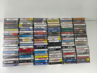 Cassette Tape Lot 300 Cassettes Wide Variety Check The Photos - Great Titles!