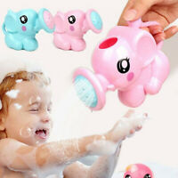 Children Kids Baby Swimming Bath Toys Cute Elephant Watering Pot Showering Acc