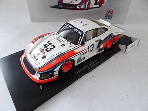 1/18 Porsche 935/78 #43 Moby Dick Le Mans 1978 SPARK voiture miniature 18S030
