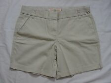 "J CREW 7"" CHINO SHORT 10 M L Medium Large Pebble Summer Shorts khaki NEW 20890"