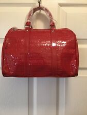 Victorias Secret Bag Tote Purse Doctor Style Red Love Edition