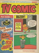 TV COMIC 1443 CHARLIE'S ANGELS BUZBY DROOPY MIGHTY MOTH BASIL BRUSH POPEYE  1979
