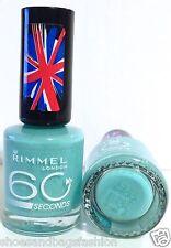 Rimmel 60 Seconds Nail Color Mint Green Nail Polish # 210 MINTILICIOUS NEW HTF