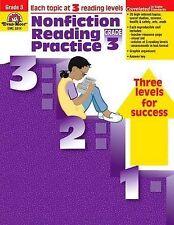 NEW Nonfiction Reading Practice, Grade 3 by Evan Moor
