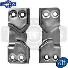 1947-1951 Chevy Pickup Pick Up Truck Door Latch Striker Plate - PAIR