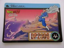 Carte DRAGON BALL Z DBZ Carddass Hondan Part 19 N°106 - BANDAI 1994 Jap