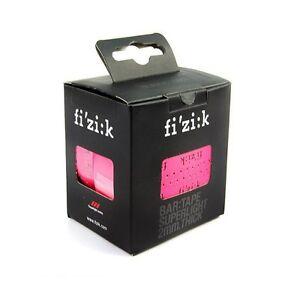 Fi'zik Tacky Touch Microtex 2mm Bicycle Handlebar Tapes + plugs - Pink