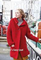 1x Patons Pattern Women Easy Coat Sewing Craft Tool Hobby Art UK Bulk Filoro