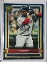 RAFAEL DEVERS 2020 TOPPS MUSEUM COLLECTION CARD #89 BOSTON RED SOX d/150 BLUE
