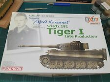 "Dragon 6416 Gefreiter ""Alfred Kurzmaul"" Sd.Kfz.181 Tiger I Late Production RARE"
