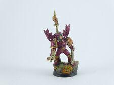 Champion - Lord der Chaos Space Marines - gut bemalt Metall Umbau -