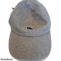Vinyard Vines Men's Gray Flannel Wool cap Excellent Condition