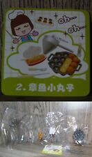 Miniature Re ment Orcara Store Canteen Caca Food Set 2 full