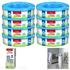 Diaper Genie Pail Refill Playtex Baby 8 Refills Built Durable with 7 Layer Film