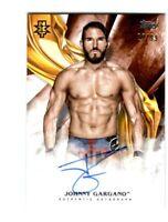 WWE Johnny Gargano 2019 Topps Undisputed Orange On Card Autograph SN 29 of 99