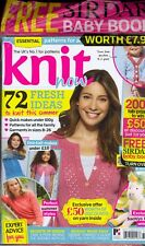 Knit Now Issue 76 (2017) Factory Packaged + SIRDAR Sweet Treasures Baby Book