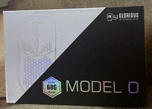 GLORIOUS PC GAMING RACE MODEL O WIRED GAMING MOUSE GLOSSY BLACK 68G