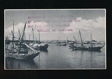 Pakistan GB Military MARIPUR RAF staging post concessionary mail cachet c1954PPC
