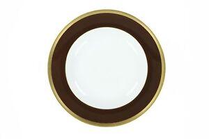 Haviland 249490 Laque De Chine Porcelain Platter Brown/White/Gold